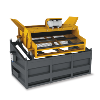 Hartl Crusher - Screen Box
