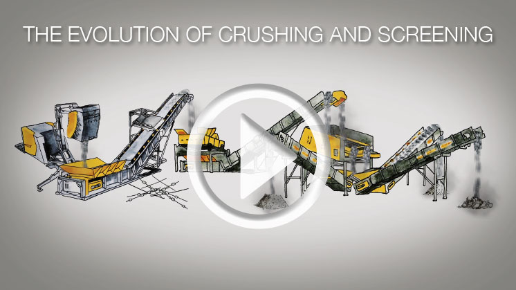 The Evolution of Crushing and Screening